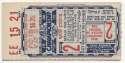 1946 Ticket  World Series Game 2 VG-Ex/Ex