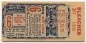 1946 Ticket  World Series Game 6 VG-Ex/Ex