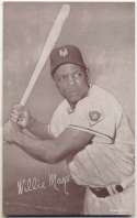 1947 Exhibit 180 Mays Batting Ex-Mt+