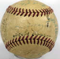 1947 Yankees  Team Ball 4.5 JSA LOA (FULL)