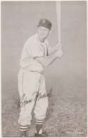 1947 Exhibit 196 Musial Batting NM