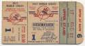 1947 Ticket  World Series Game 1 Good