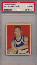 1948 Bowman 32 Holzman RC PSA 4