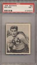 1948 Bowman 88 Kish PSA 7
