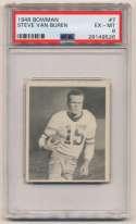 1948 Bowman 7 Van Buren PSA 6