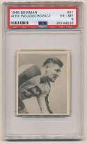 1948 Bowman 61 Wojciechowicz PSA 6