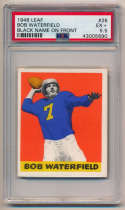 1948 Leaf 26 Waterfield RC PSA 5.5