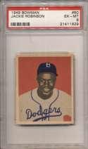 1949 Bowman 50 J Robinson PSA 6
