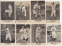 1949 Remar Bread  Collection of 19 Signed Cards w/HOFer George Kelly 9