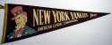 1949 Pennant  1949 Yankees AL Championship Ex-Mt/NM