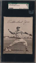 1949 Sealtest Phillies  Jones SGC 5