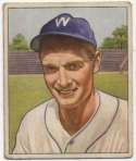 1950 Bowman 17 Sid Hudson VG