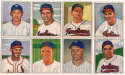 1950 Bowman  166 different w/minor stars VG-Ex/Ex