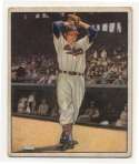 1950 Bowman 6 Bob Feller VG