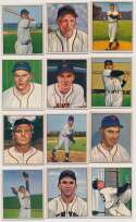 1950 Bowman  12 different NY Giants Ex