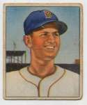 1950 Bowman 1 Mel Parnell RC Good