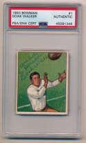 1950 Bowman 1 Doak Walker (signed) 7
