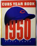 1950 Yearbook  Chicago Cubs VG (tape)