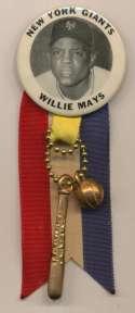 1950 PM10  Willie Mays Nm-Mt w/ribbon