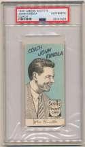 1950 Lakers Scotts Potato Chips  John Kundla (very rare) PSA Authentic
