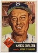 1953 Topps 50 Dressen Ex-Mt+