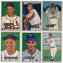 1951 Bowman  214 different commons/minors Ex