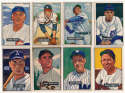 1951 Bowman  52 different high #s w/minors VG to VG-Ex