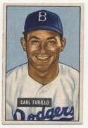 1951 Bowman 81 Furillo Ex++