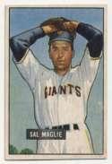 1951 Bowman 127 Maglie RC Ex