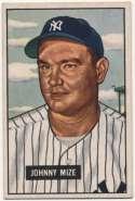 1951 Bowman 50 Mize Ex-Mt+