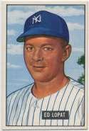 1951 Bowman 218 Lopat NM