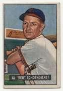 1951 Bowman 10 Schoendienst VG+