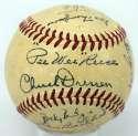 1951 Dodgers  Team Ball 8 JSA LOA (FULL)