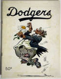 1951 Yearbook  Brooklyn Dodgers Ex-Mt