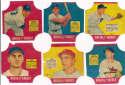 1951 Fischers Bread Labels  Complete Set