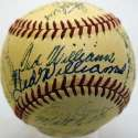 1951 Red Sox  Team Ball (2x Ted Williams!) 8