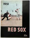 1951 Yearbook  Boston Red Sox (first year) Ex