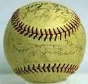 1951 White Sox  Team Ball 6