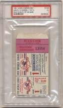 1951 Ticket  World Series Game 1 PSA 3