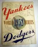 1952 WSP  At Yankees Ex-Mt