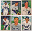 1952 Bowman  187 different commons/minors,    VG-Ex