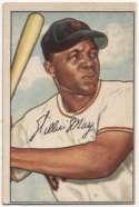 1952 Bowman 218 Mays GVG