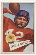 1952 Bowman Small 63 Conerly  Ex+