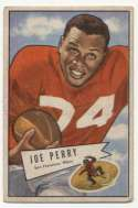 1952 Bowman Small 83 Perry VG