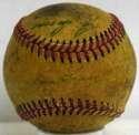 1952 Indians  Team Ball 4