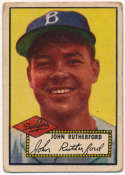1952 Topps 320 Rutherford Good