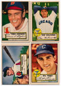 1952 Topps  14 different commons Nice VG+