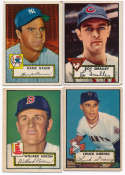 1952 Topps  174 commons w/84 low #s (113 different) VG