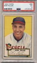 1952 Topps 88 Feller PSA 5