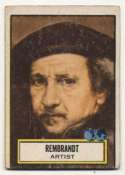1952 Topps Look N See 82 Rembrandt GVG